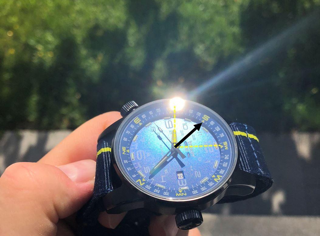 Uhr mit Kompass Funktion Traser