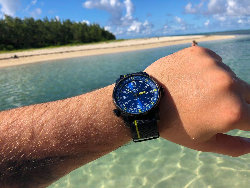 kristallklares Wasser Mauritius