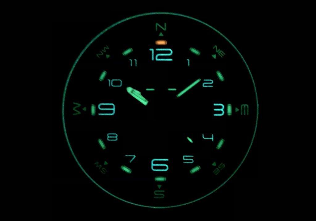 traser P68 Pathfinder Test bei Nacht