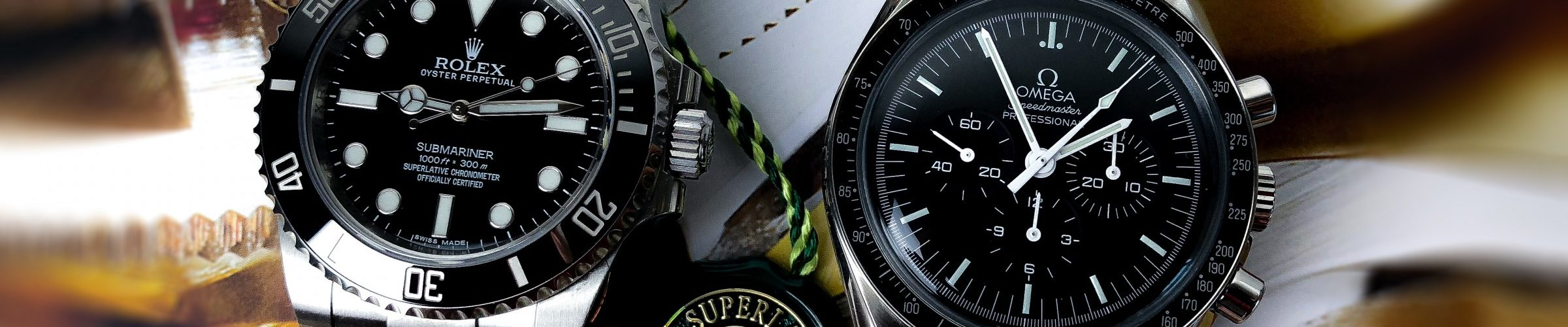 Chronometer vs. Chronograph_Omega Moonwatch Rolex Submariner