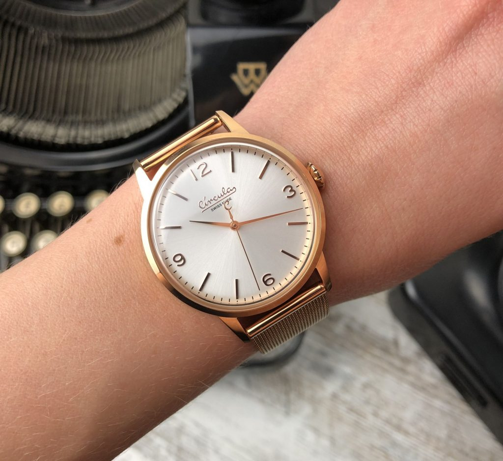 Circula rose gold Kapten Son Alternative