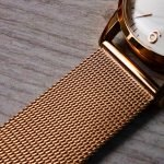 Milanese Band Mesh Rose Gold