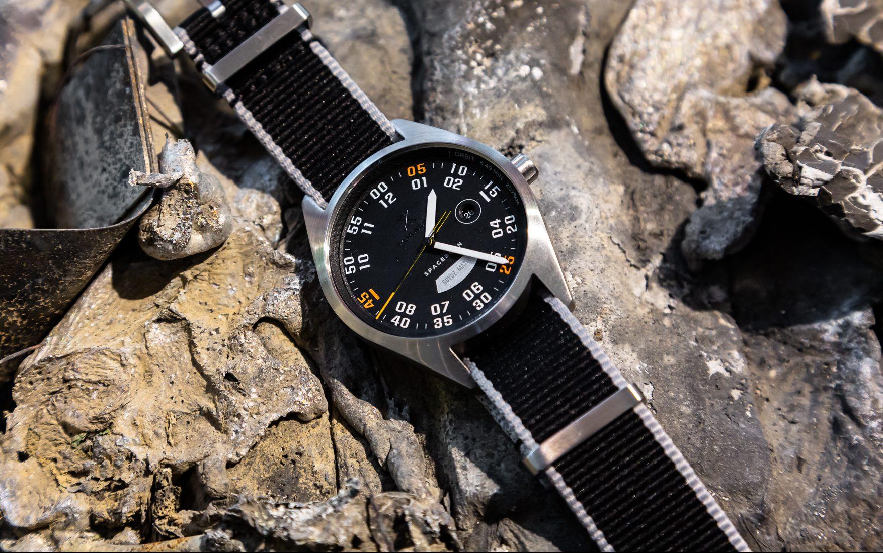 Read more about the article Werenbach MACH 33: Neue Kickstarter-Kampagne mit günstiger Soyuz-Raketen-Uhr