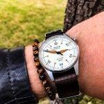 Aevig Corvid Nato-Uhrenarmband Premium Braun