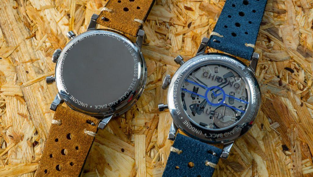 Individualisierbarer Gehäuseboden Uhr
