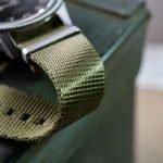 Khakigrünes Natoband