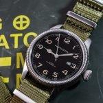 Militäruhr Nato Band Khaki Hamilton