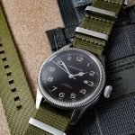 Nato Uhrenarmband Hamilton Field Watch Grenade Pouch