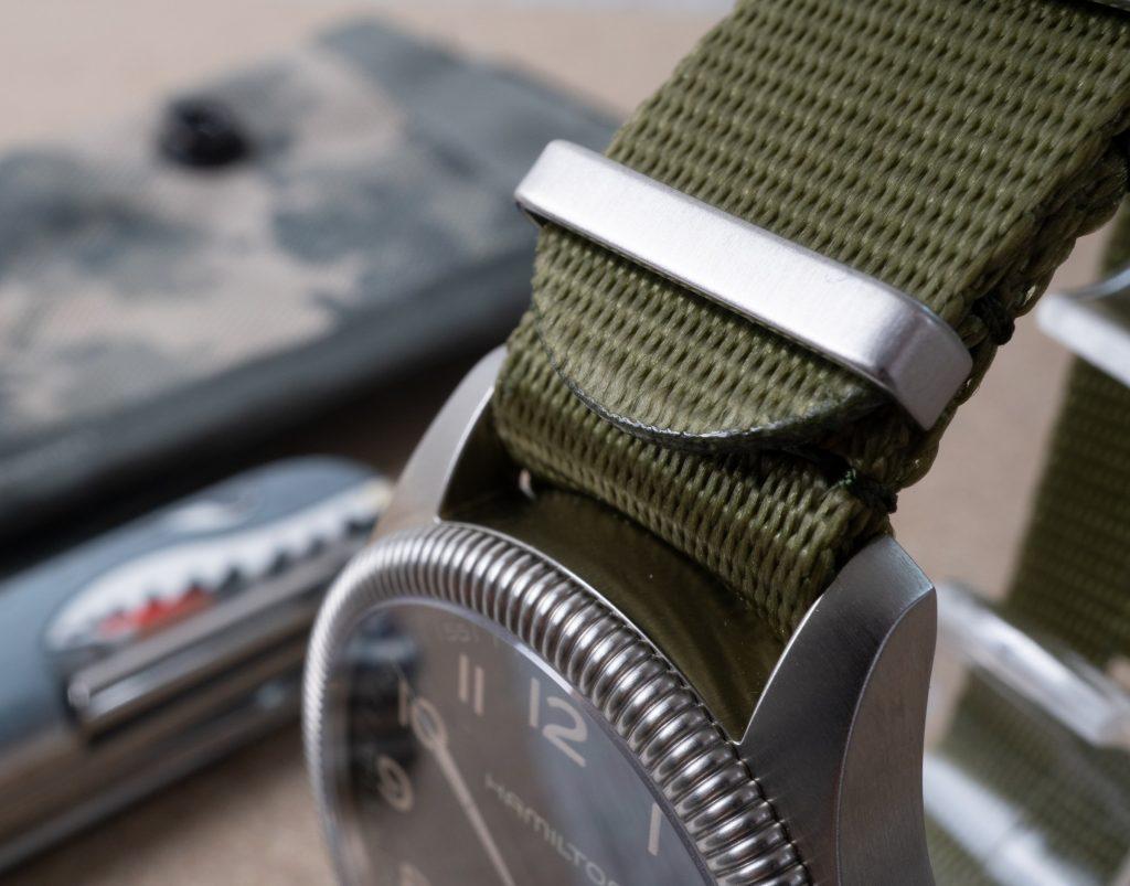 Natoarmband militärgrün