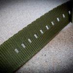 Seatbelt Natoband Watchbandit Versiegelung