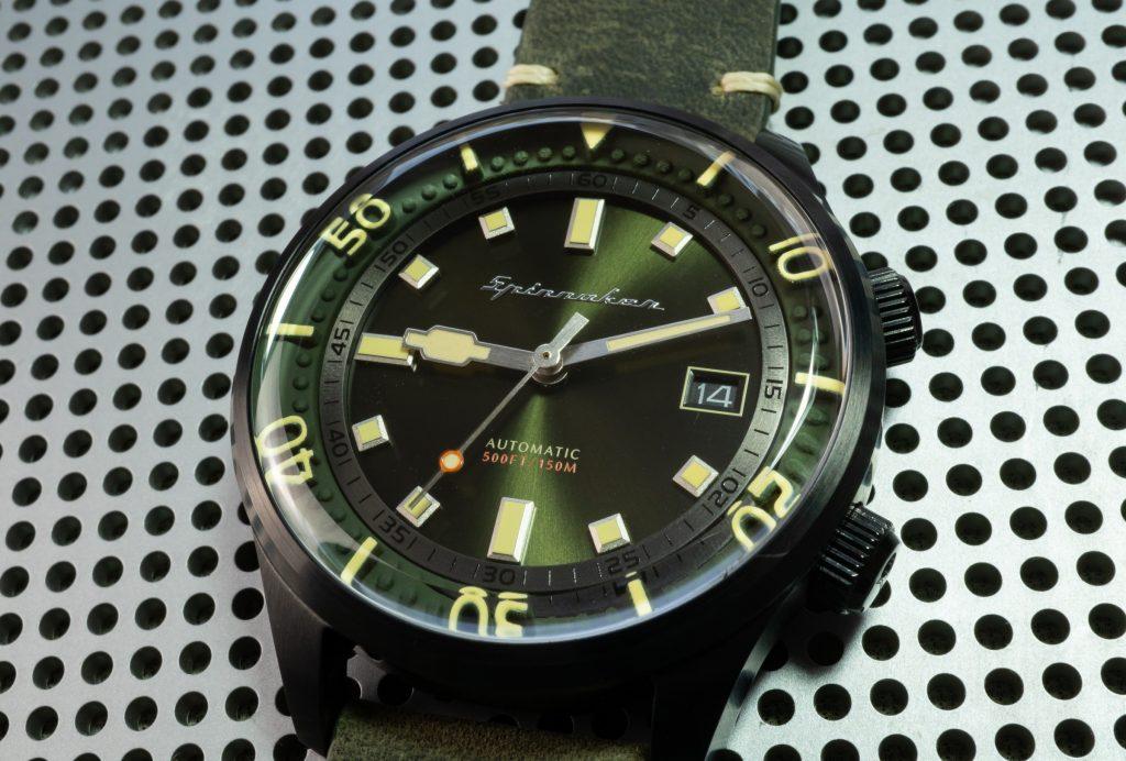 Spinnaker Bradner Taucher Uhr