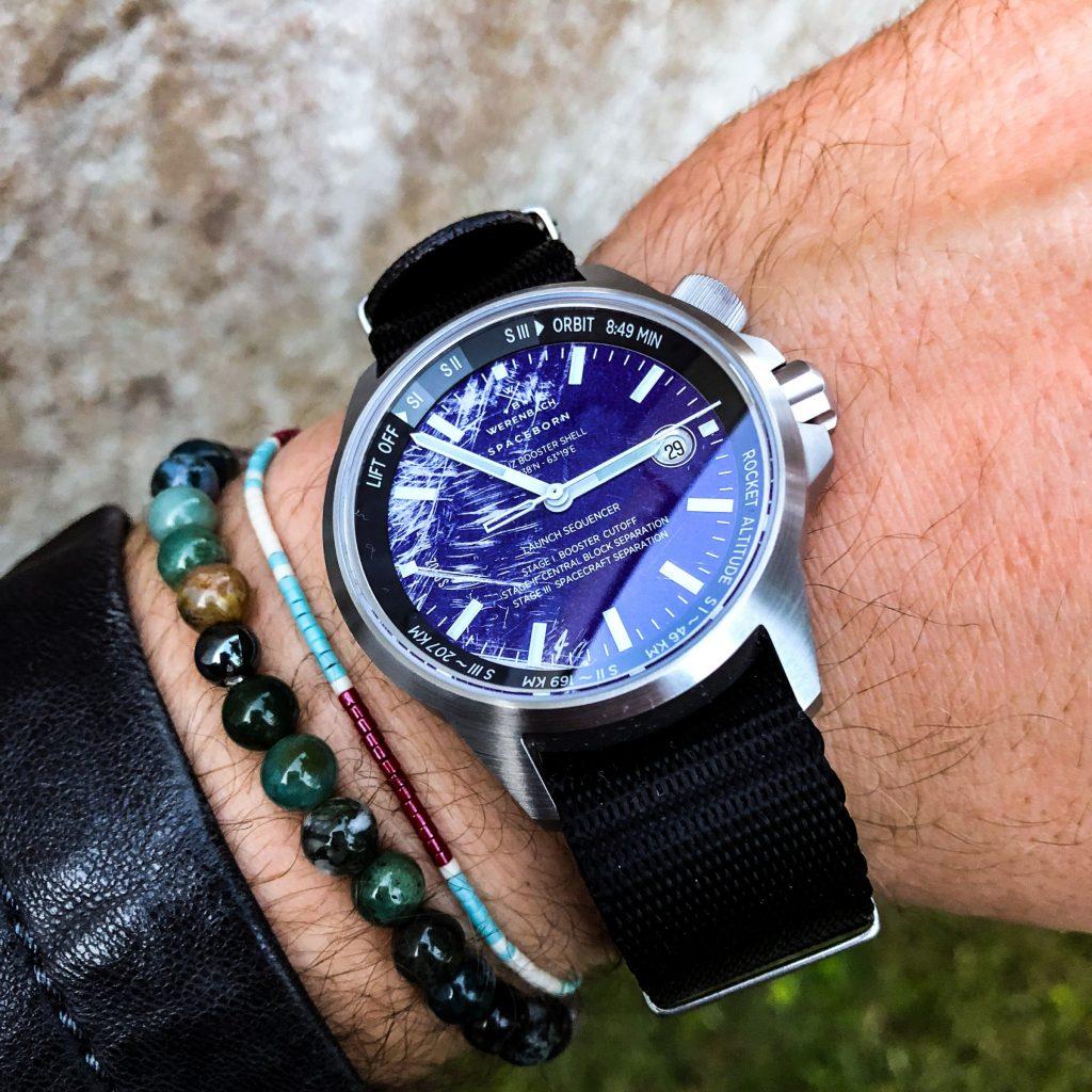 Werenbach Leonov BTO Nato Uhrenarmband schwarz