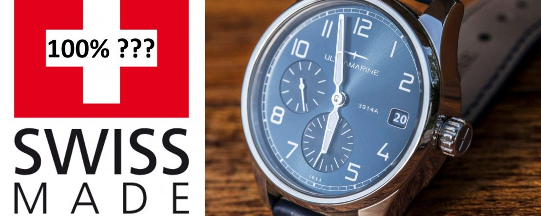 100% Swiss Made Uhr