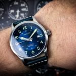 Aquatico Blue Angels Uhr Piloten- Flieger