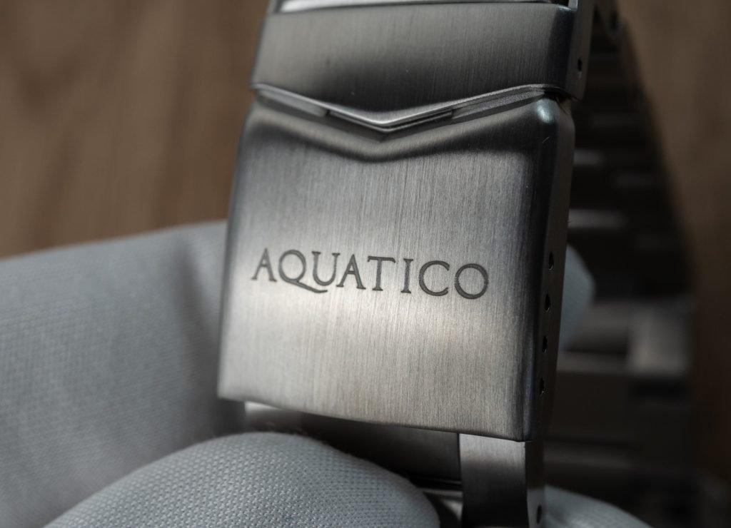 Aquatico Uhr Edelstahlband