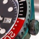 Zweifarbige Lünette Tudor GMT Hommage