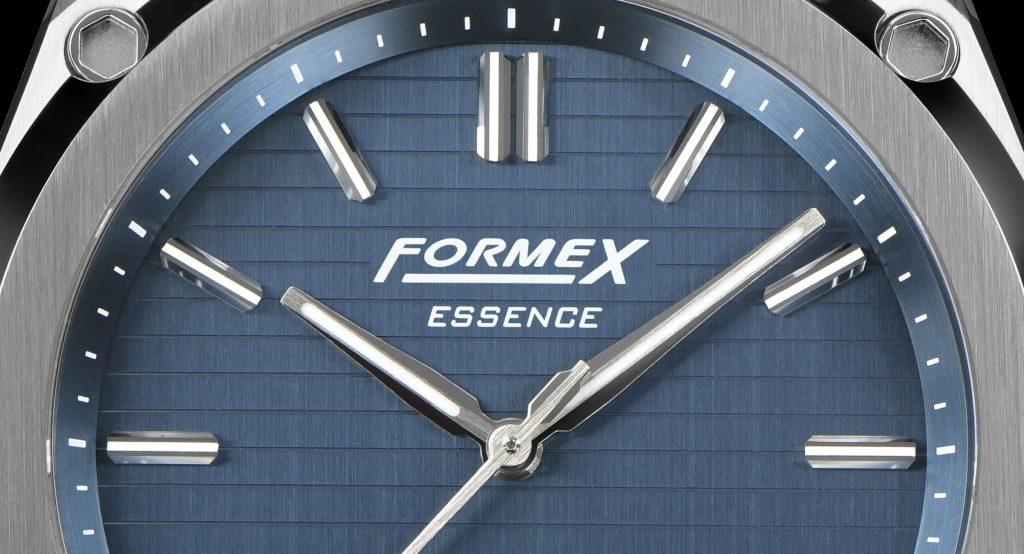 Formex Essence Logo blau