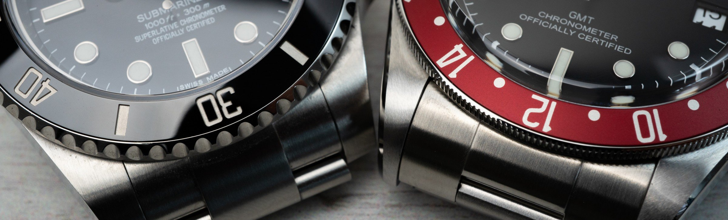 Keramik vs. Aluminium Lünette Rolex Tudor Pepsi GMT