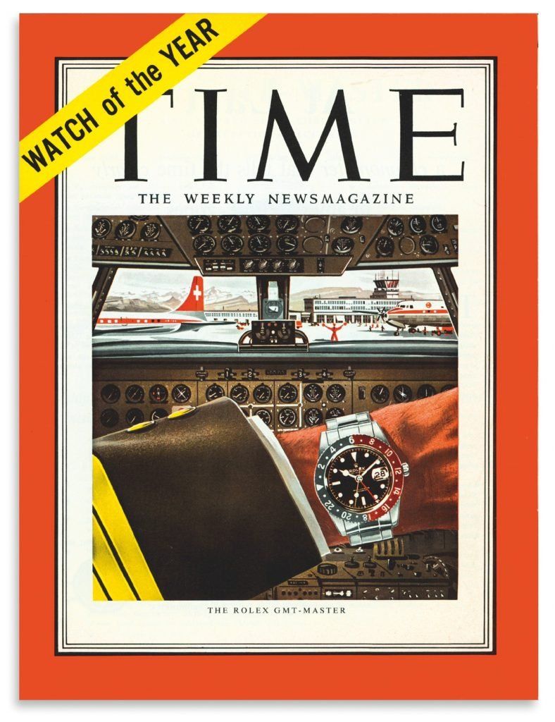 Rolex GMT Werbung Time Magazine 50er Jahre