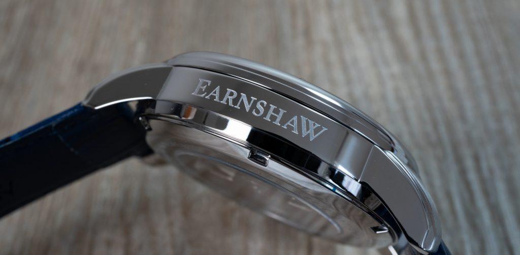 Thomas Earnshaw Uhr Precisto Longitude ES-8803 Gravur Seite