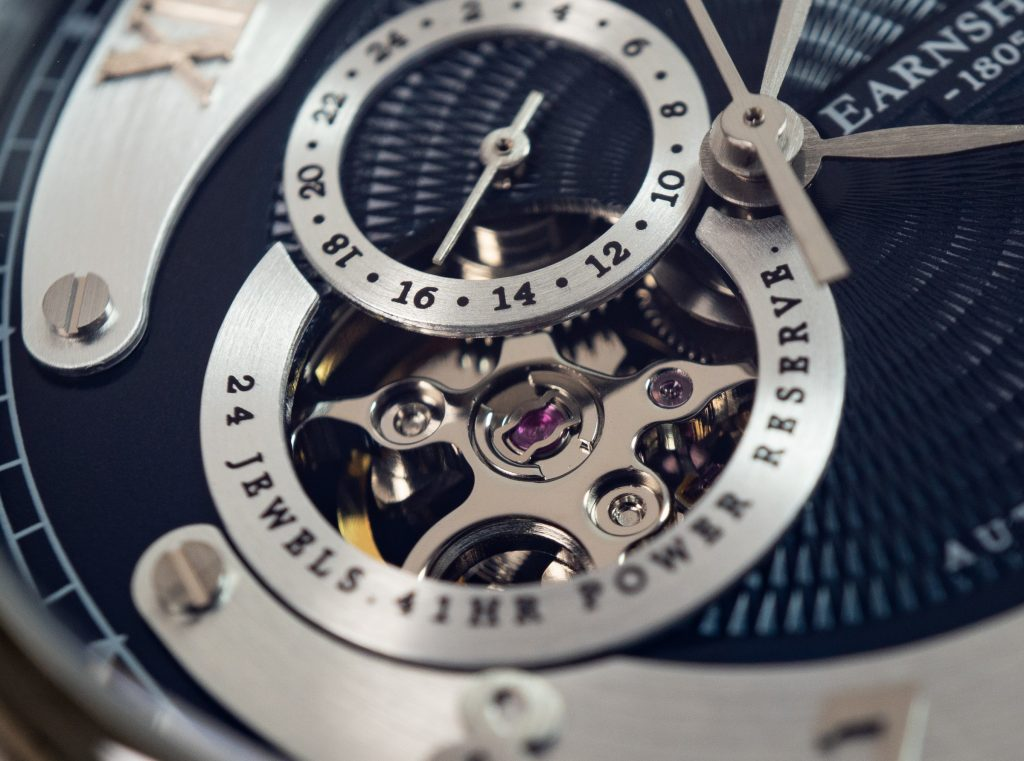 Thomas Earnshaw Uhr Precisto Longitude ES-8803 Offene Unruh