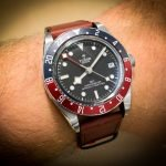 Tudor-Black-Bay-GMT-Pepsi-Leder Band