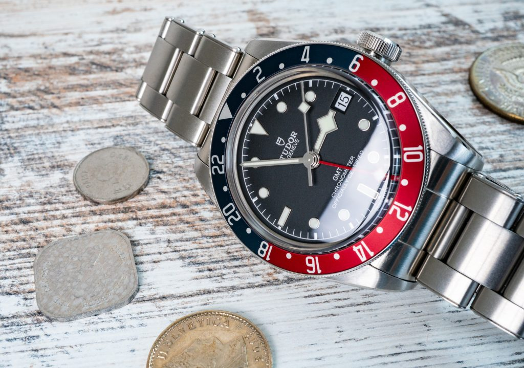 Tudor Black Bay Pepsi GMT Blau Rot