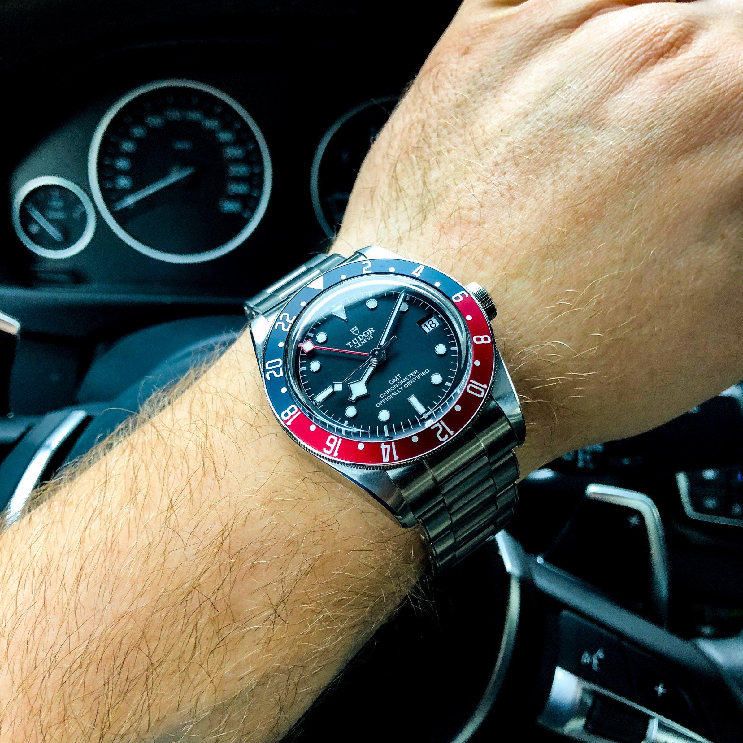 Tudor Pepsi GMT Wristshot