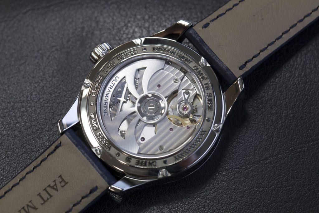 Ultramarine Eterna Kaliber 39 Automatikwerk GMT
