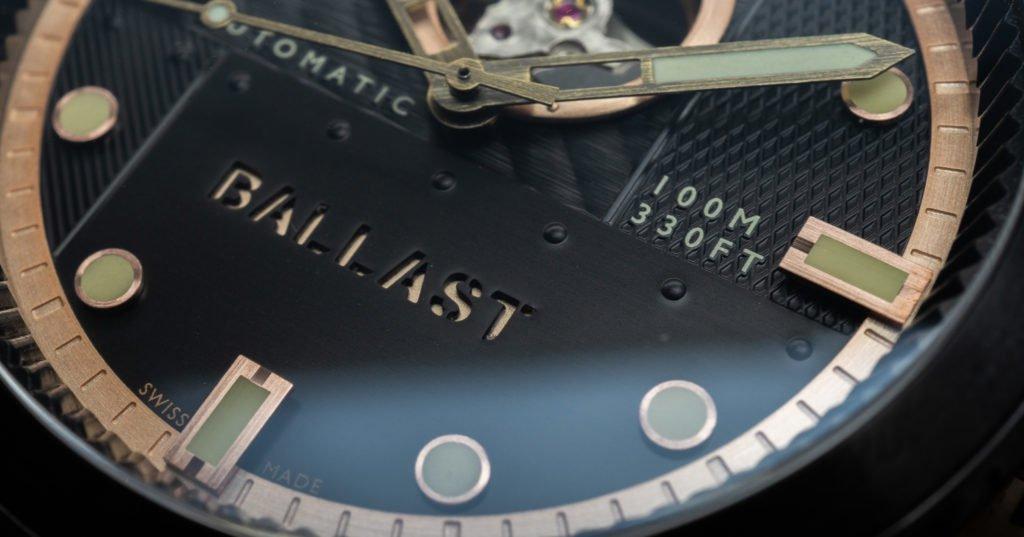 Ballast 1903 Sandwich-Optik Uhr
