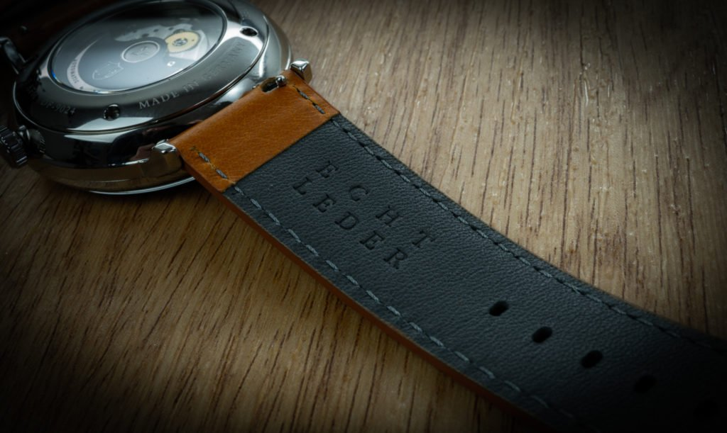 Echtlederband Deutsche Uhrenfabrik THüringen