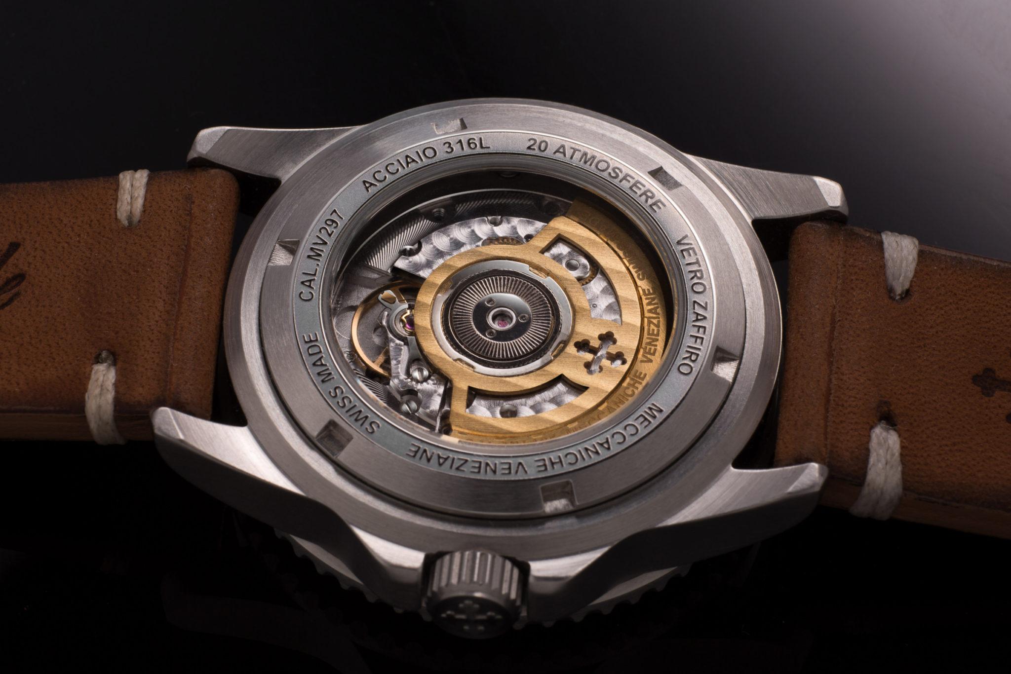 Meccaniche Veneziane GMT Uhr