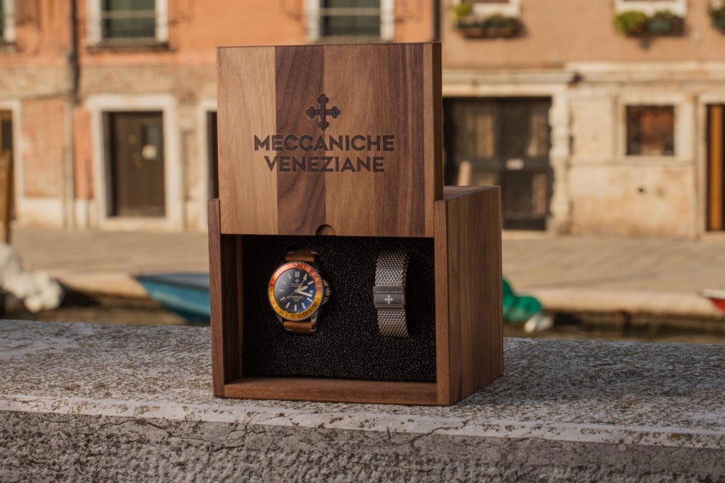 Meccaniche Veneziane Nereide GMT Watch
