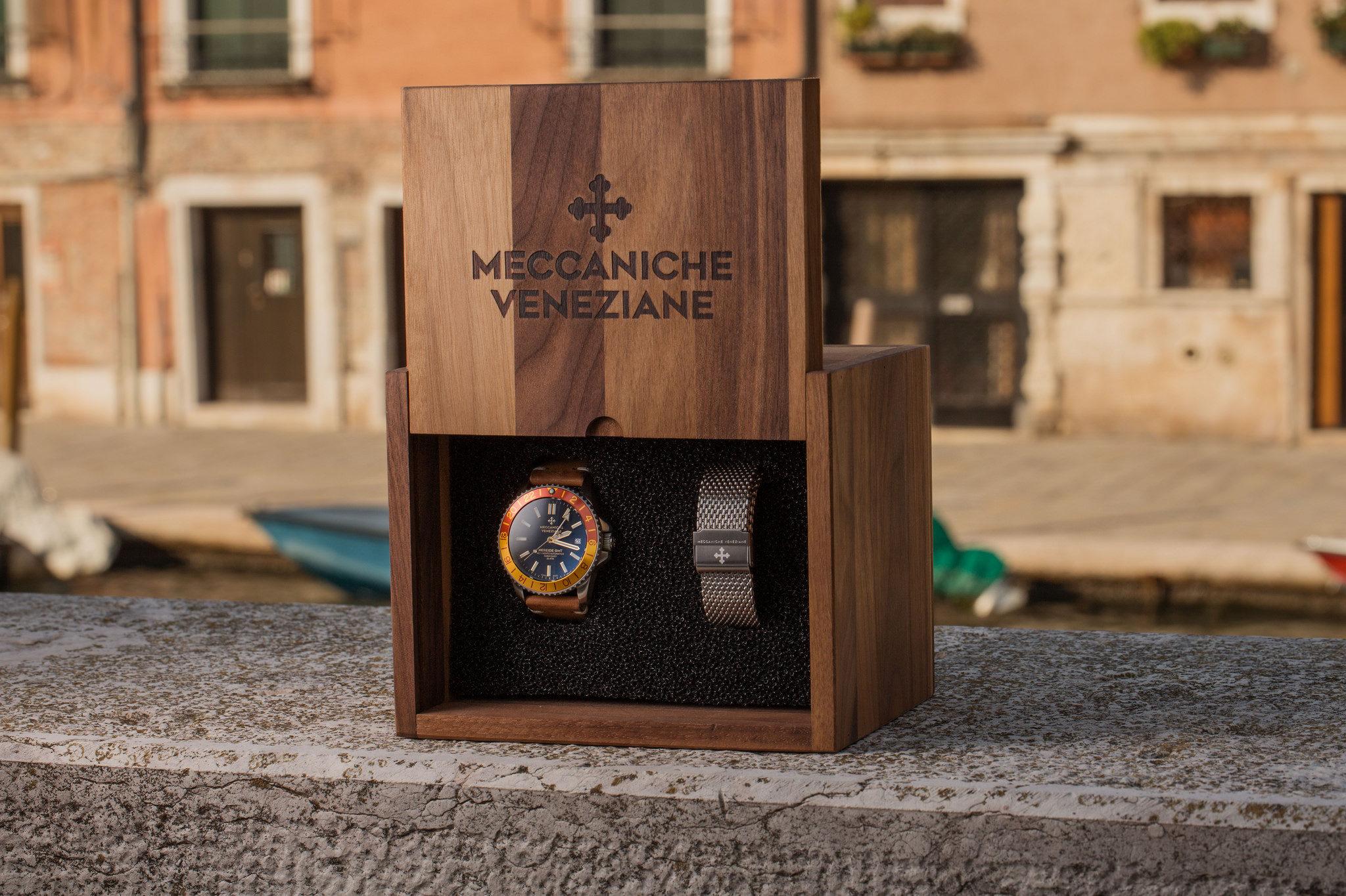 Meccaniche Veneziane Nereide GMT Watch