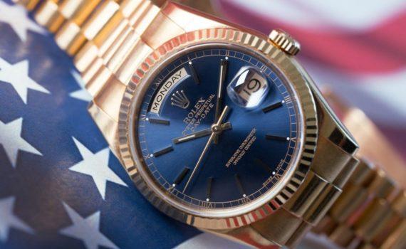Rolex Day-Date 118238 W74088 Flag-3