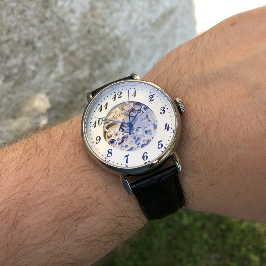 Thomas Earnshaw Precisto Grand Legacy ES-8810 Wrist shot