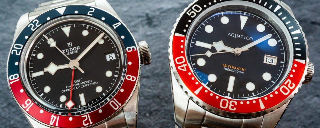 Tudor Black Bay GMT Hommage
