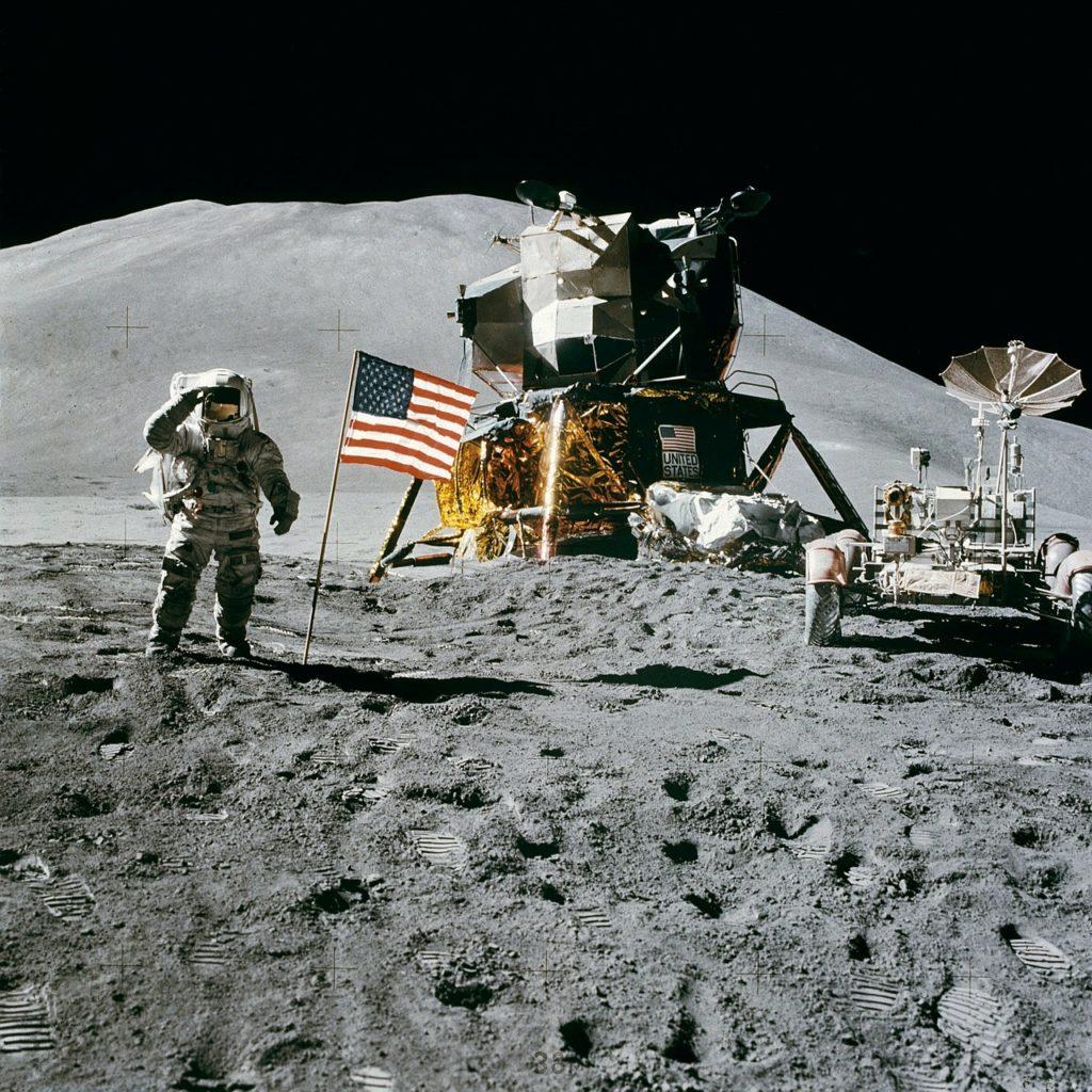 Aufbruch zum Mond original Landung Neil Armstrong