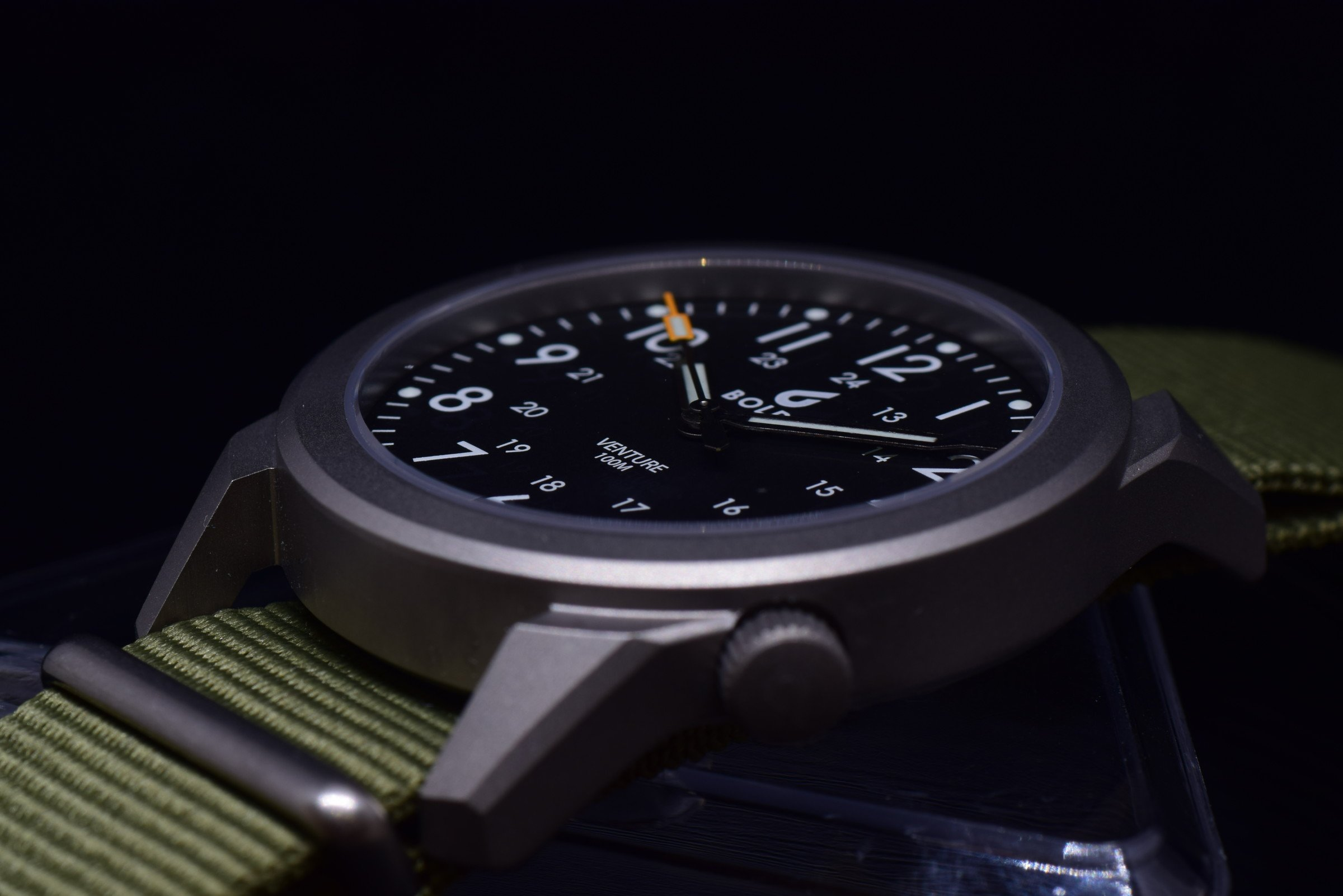 BOLDR Venture Titan Field Watch