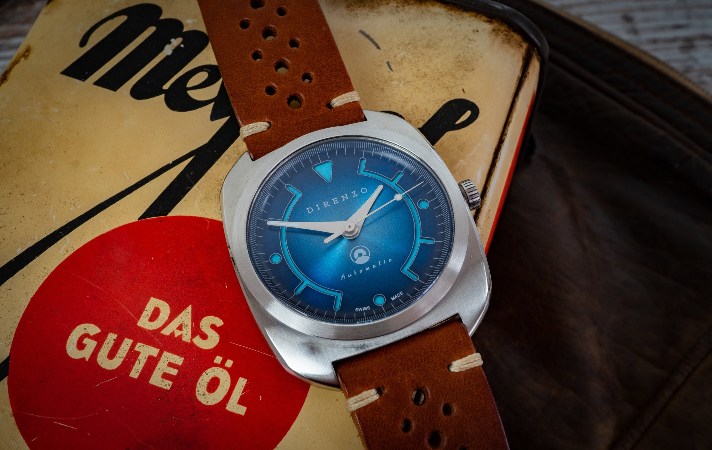 Direnzo DRZ_02 Kickstarter-Uhr