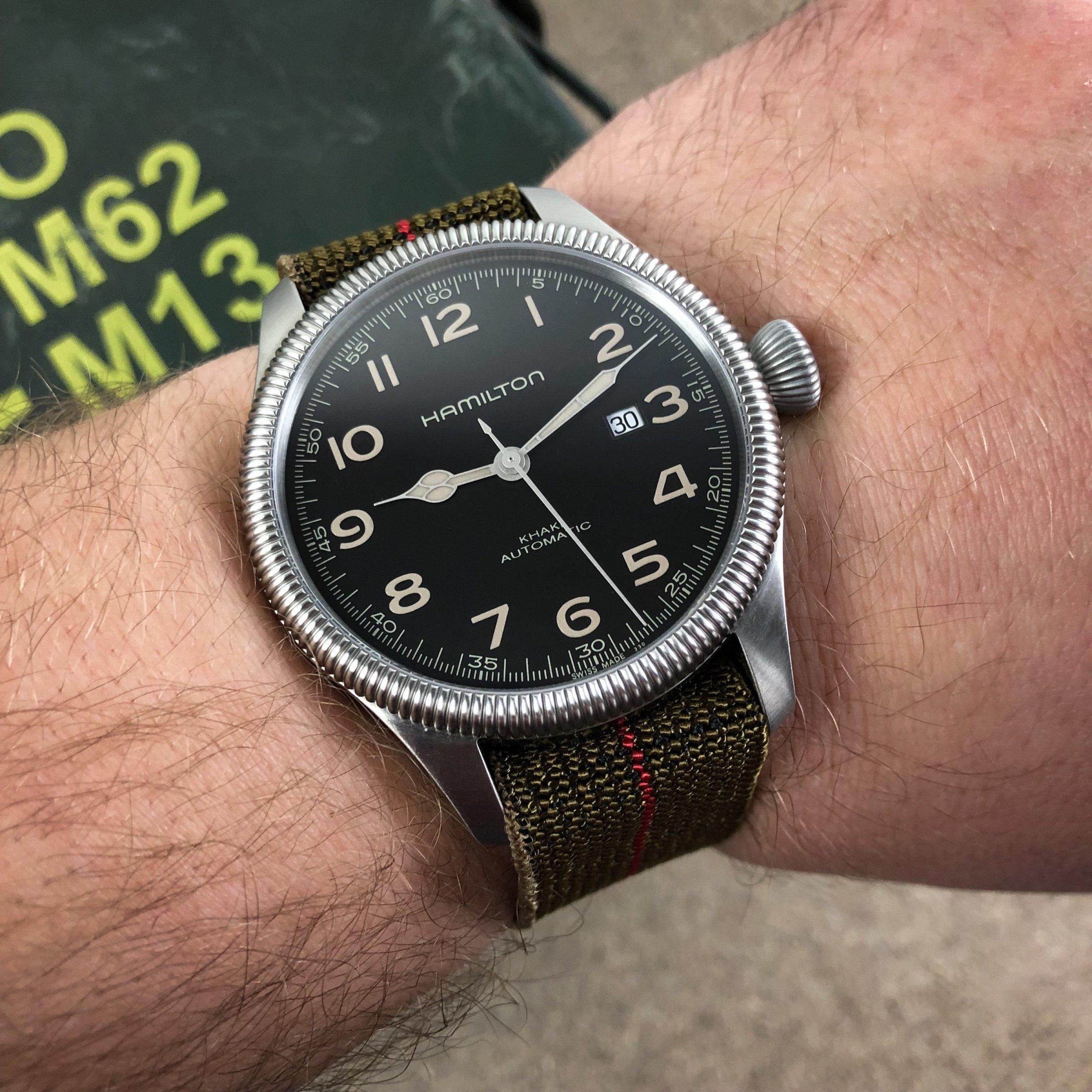 Field Watch Militäruhr Erikas MN Strap
