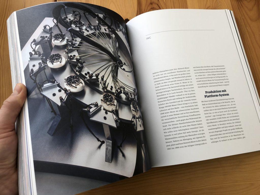 Nikolaus Förster Uhren Buch IWC Geschenk