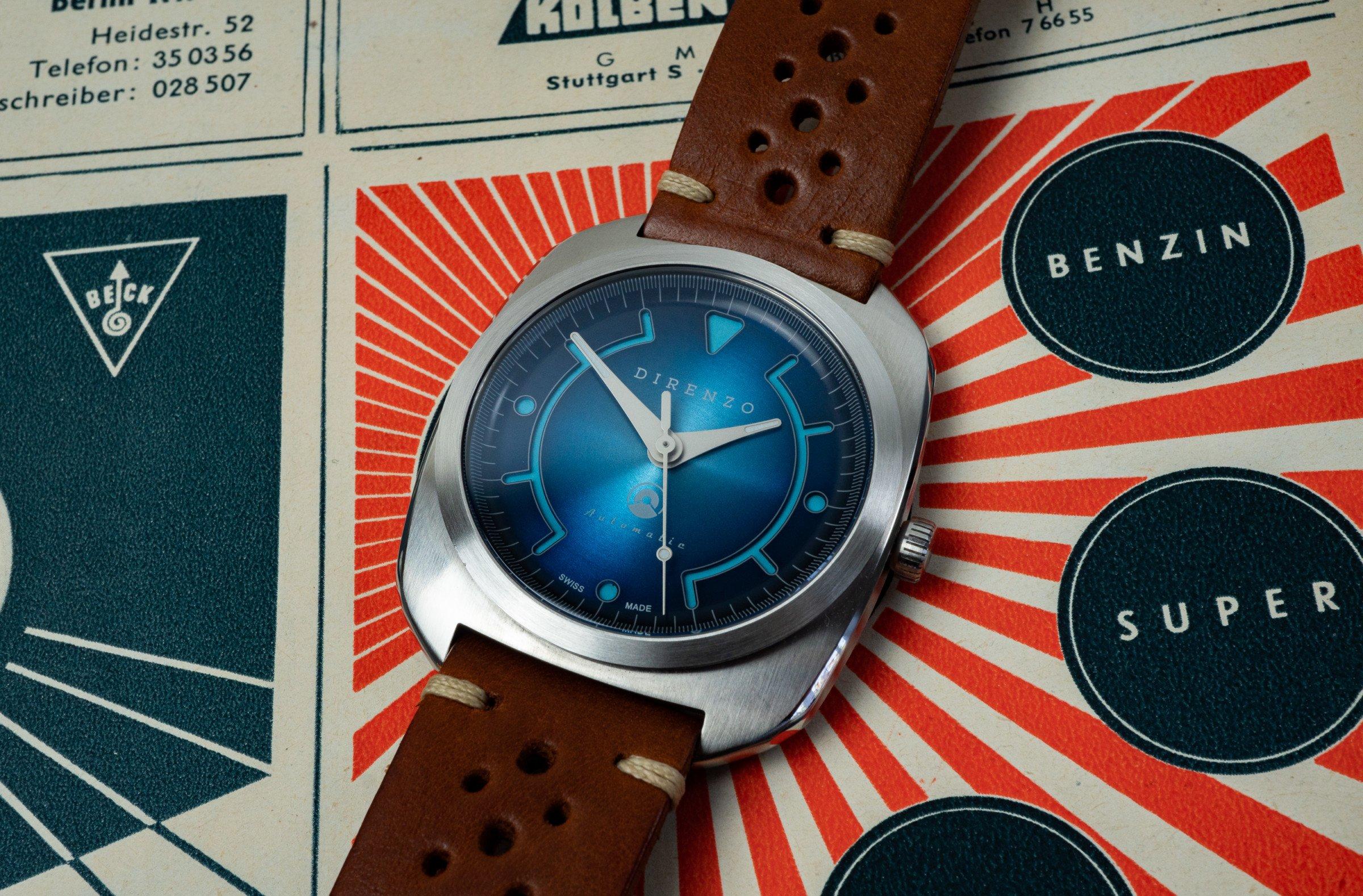 Retro-Uhr 2018 Kickstarter Di Renzo