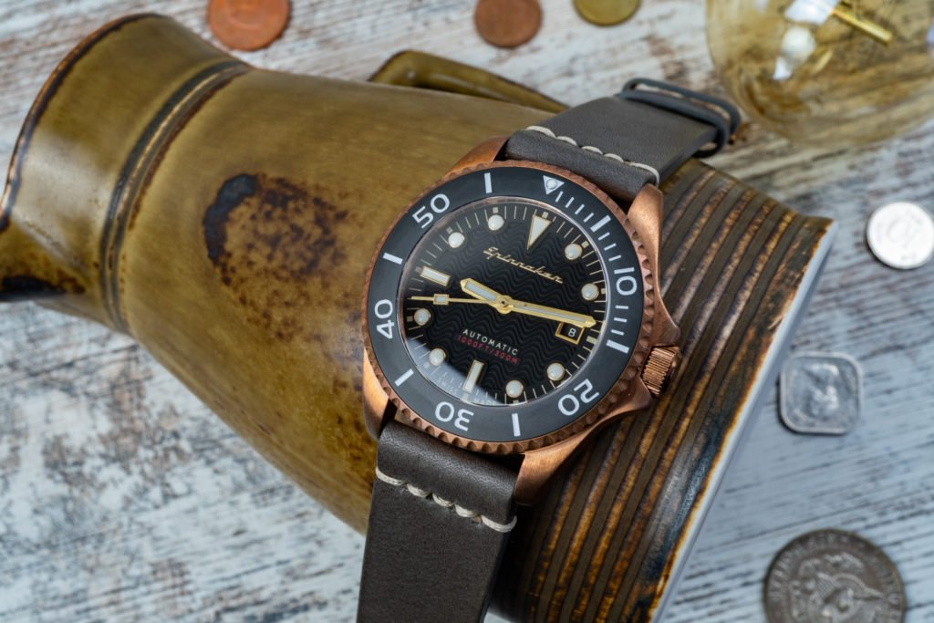Spinnaker Tesei Bronze Swiss Made Review