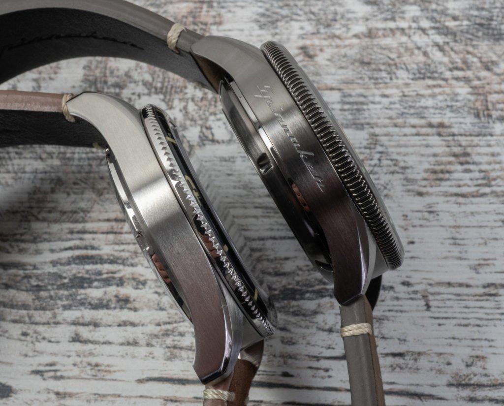 Gehäuse Gunmetal Grau Stahl