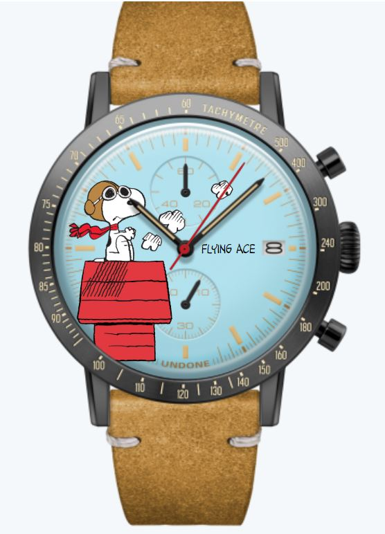 Flying Ace Snoopy Uhr