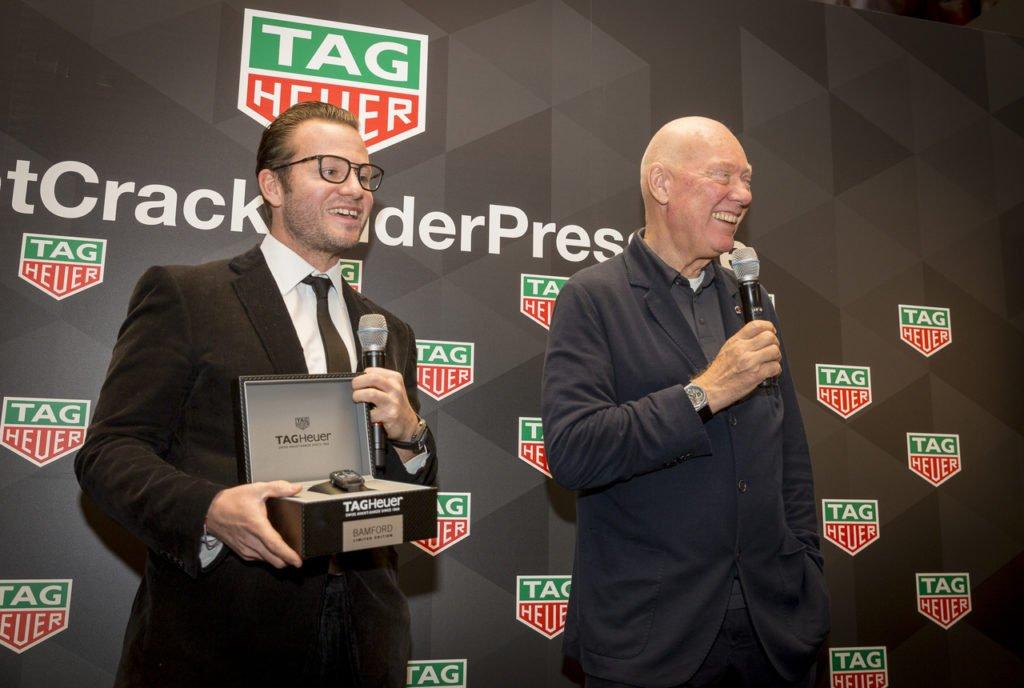 George Bamford und Ex-TAG Heuer CEO Biver, Bild: TAG Heuer