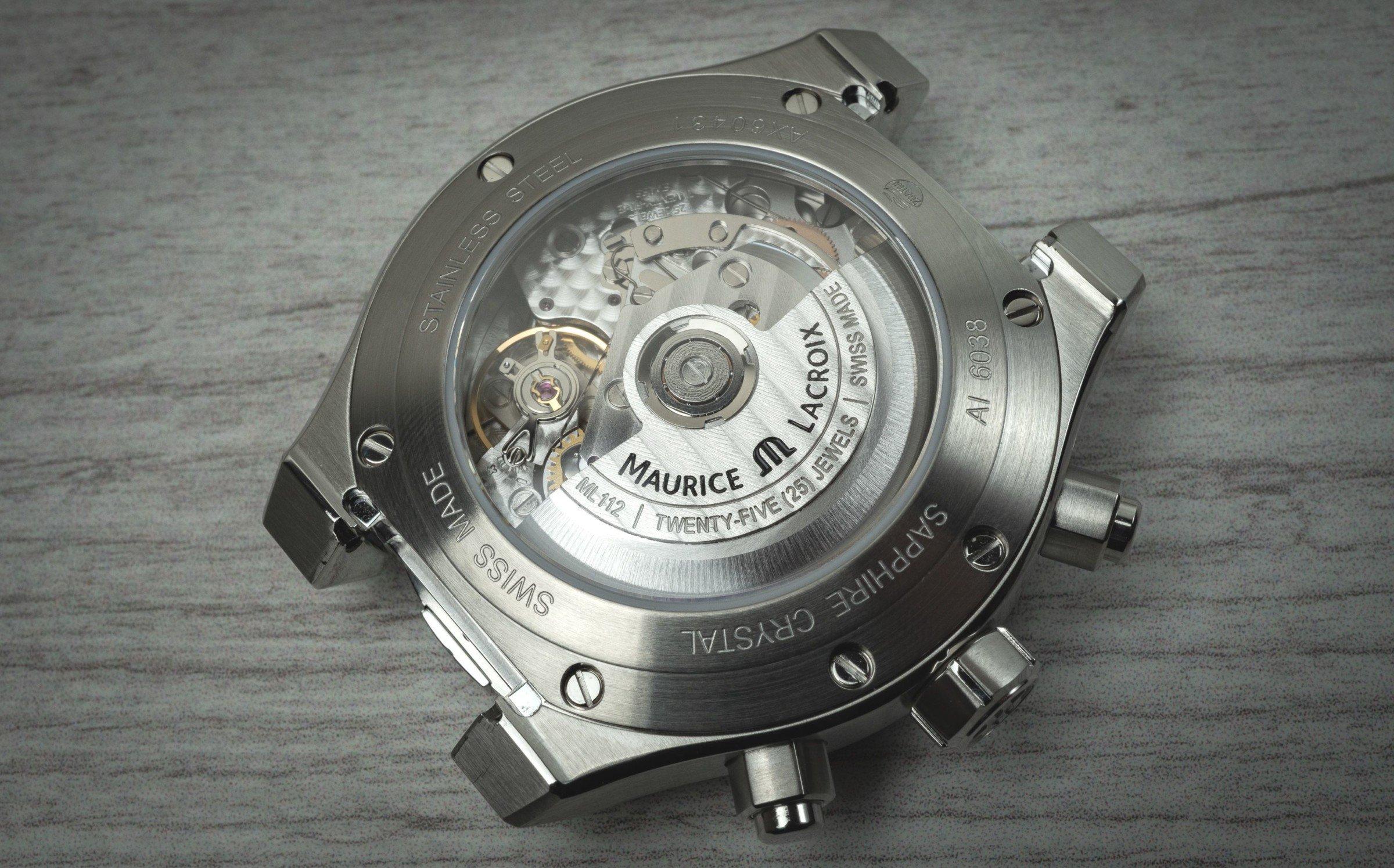 ML112 Chronograph Automatikwerk Valjoux ETA 7750