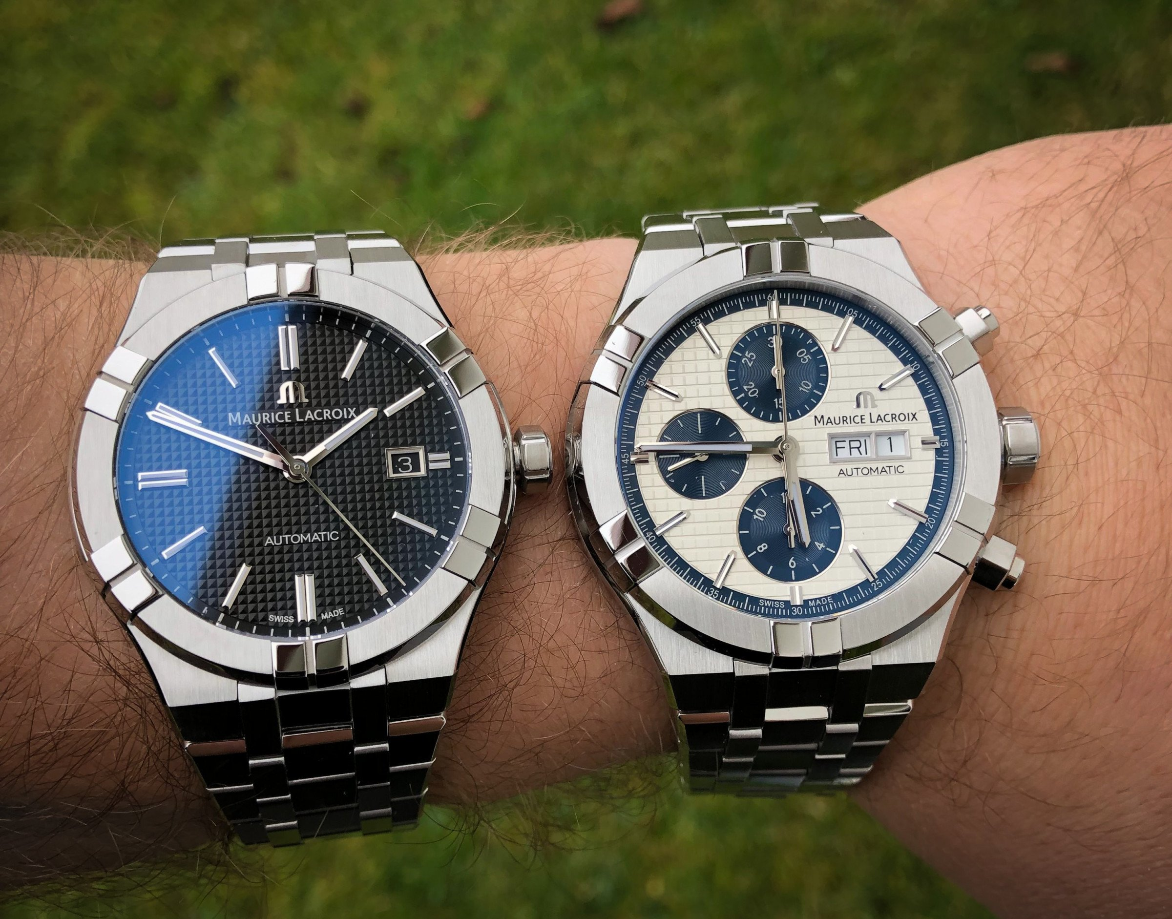 Maurice Lacroix Aikon Chronograph vs. Dreizeiger Test