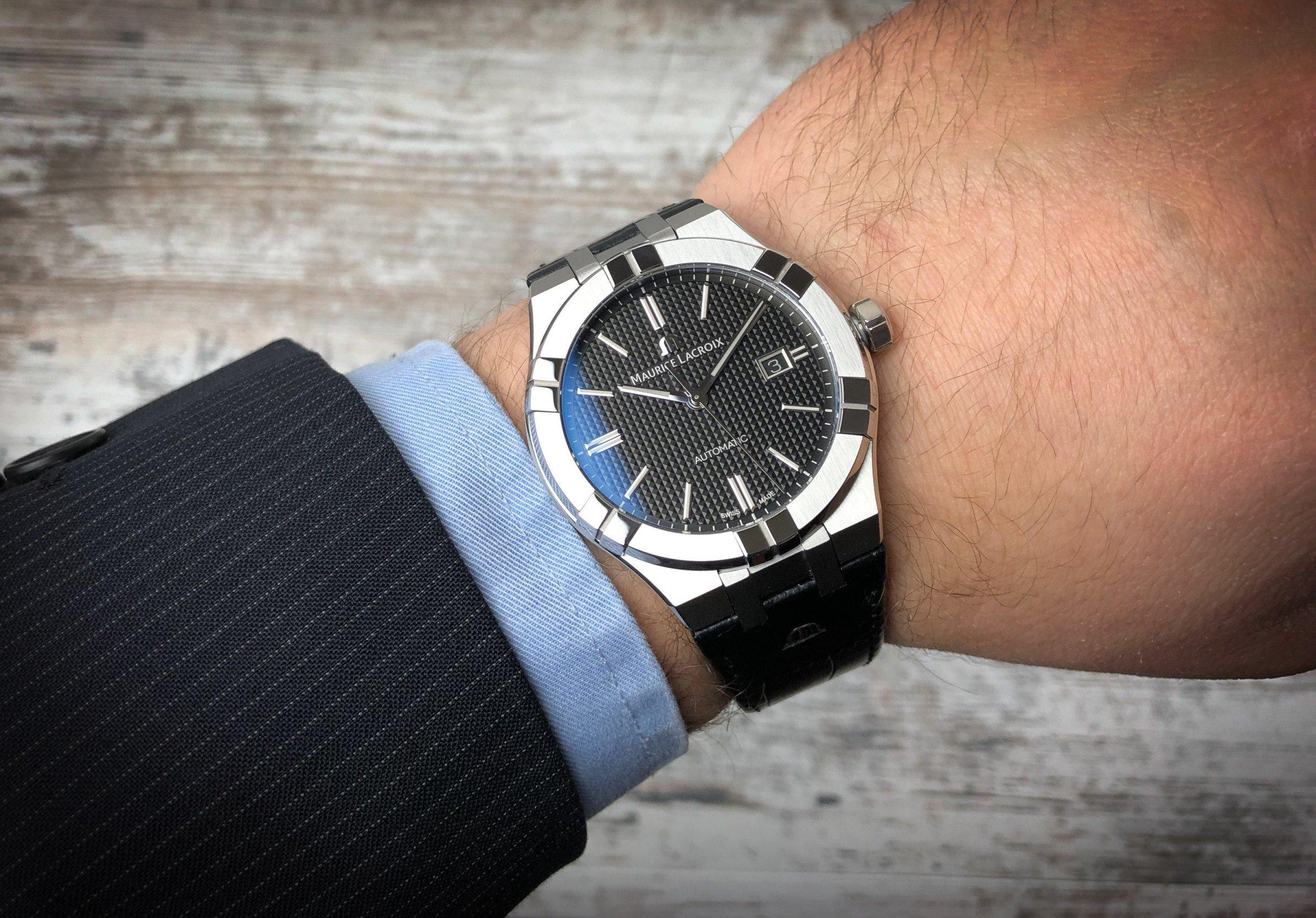 Maurice Lacroix Aikon Swiss Made Wrist